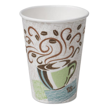 PerfecTouch® Hot Cups, Paper, 12 oz (Fits Large Lids), 50/PK