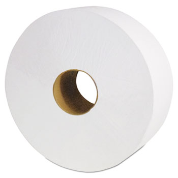 "Cascades PRO North River Jumbo Roll Tissue, 2-Ply, White, 3 1/2"" x 1900', 6 Rolls/Carton"