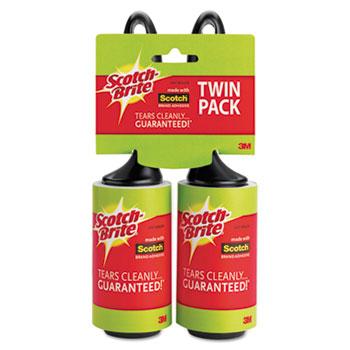 3M Scotch-Brite™ Lint Roller, 2/Pack