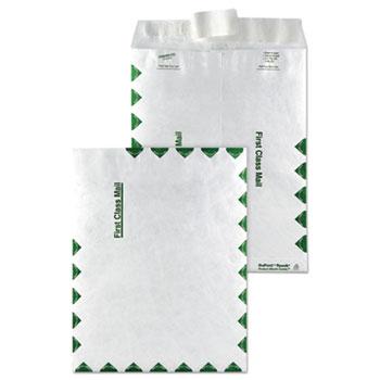 Survivor® Tyvek USPS First Class Mailer, Side Seam, 9 x 12, White, 100/Box