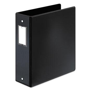 """Cardinal® Premier Easy Open Locking Round Ring Binder, 3"""" Cap, 11 x 8 1/2, Black"""