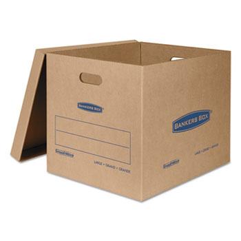 Bankers Box® SmoothMove Classic Moving Boxes, 21l x 17w x 17h, Kraft, 5/Carton