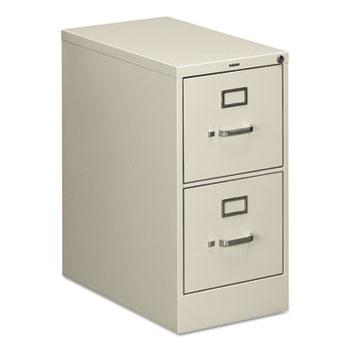 HON® 510 Series Two-Drawer Full-Suspension File, Letter, 29h x25d, Light Gray