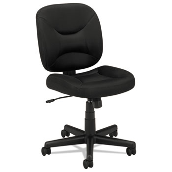 VL210 Series Mesh Low-Back Task Chair, Black