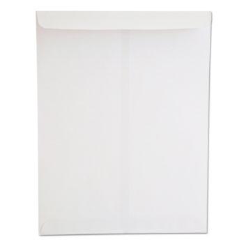 Universal Catalog Envelope, #13 1/2, Square Flap, Gummed Closure, 10 x 13, White, 250/Box