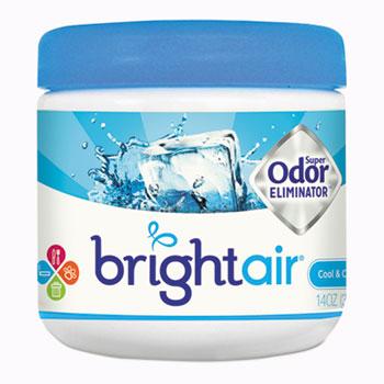 Super Odor Eliminator, Cool & Clean, Blue, 14oz, 6/Carton