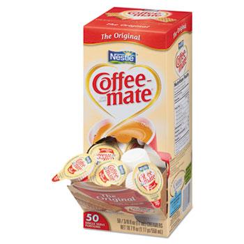 Original Liquid Coffee Creamer, 0.38 oz. Single-Serve Cups, 50/BX