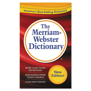 Merriam Webster® The Merriam-Webster Dictionary, 11th Edition, Paperback, 960 Pages