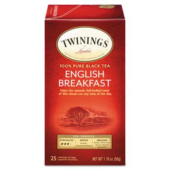 Tea Bags, English Breakfast, 25/BX