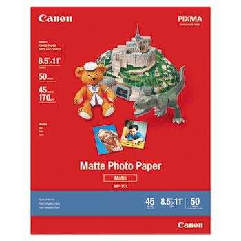 Canon® Photo Paper Plus, Matte, 8-1/2 x 11, 50 Sheets/Pack