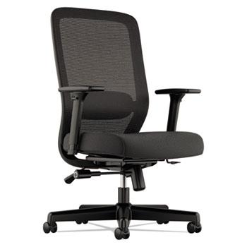 HON® VL721 Series Mesh Executive Chair, Mesh Back, 100% Polyester Seat, Black