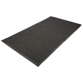 EcoGuard Indoor/Outdoor Wiper Mat, Rubber, 24 x 36, Charcoal