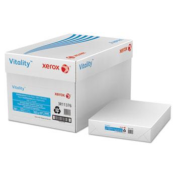 Xerox® Vitality 100% Recycled Multipurpose Printer Paper, Letter, White 5,000 Sheets