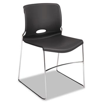Olson Stacker Series Chair, Lava, 4/Carton