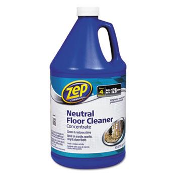 Zep Commercial® Multi-Surface Floor Cleaner, Pleasant Scent, 1 gal Bottle
