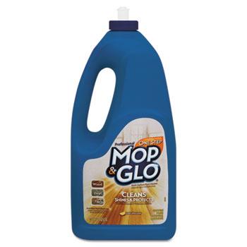 MOP & GLO® Triple Action Floor Cleaner, Fresh Citrus Scent, 64oz Bottles, 6/Carton