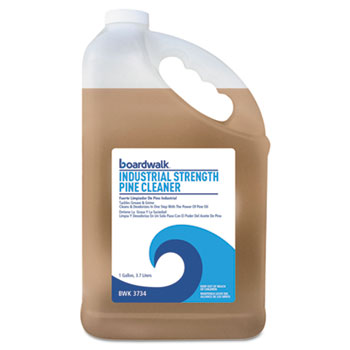 Industrial Strength Pine Cleaner, 1 gal. Bottle, Pine Scent, 4/CT