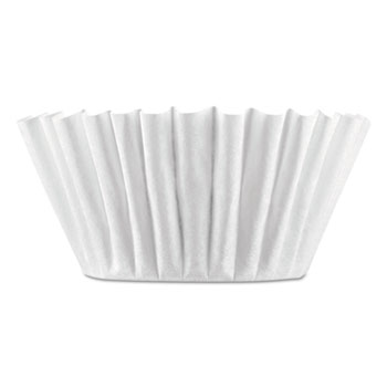 BUNN® Coffee Filters, 8/10-Cup Size, 100/Pack