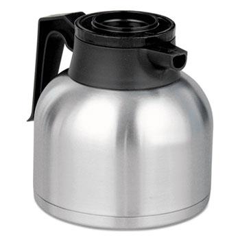 BUNN® 1.9 Liter Thermal Carafe, Stainless Steel/Black