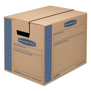 Bankers Box® SmoothMove Prime Moving/Storage Boxes, 16l x 12w x 12h, Kraft, 10/Carton