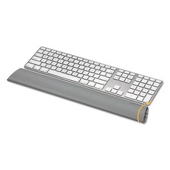 Fellowes® I-Spire Keyboard Wrist Rocker Wrist Rest, 18 1/4 x 2 9/16 x 1 1/8, Gray