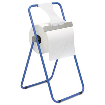 Boardwalk® Jumbo Roll Dispenser, Floor Stand, 16.38 x 20 x 33, Blue