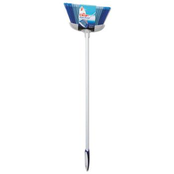 "Mr. Clean® Deluxe Angle Broom, 5 1/2"" Bristles, 55.37"", Metal Handle, White"