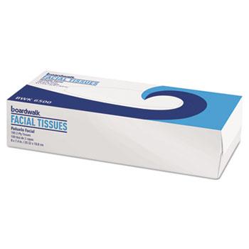 Facial Tissue, Flat Box, 100 Sheets/BX