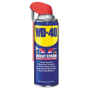 WD-40® Spray Lubricant, 12 oz Aerosol Can, 12/Carton
