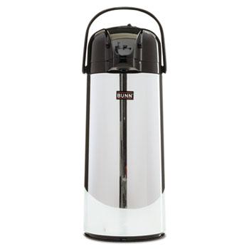 2.2 Liter Push Button Airpot, Stainless Steel