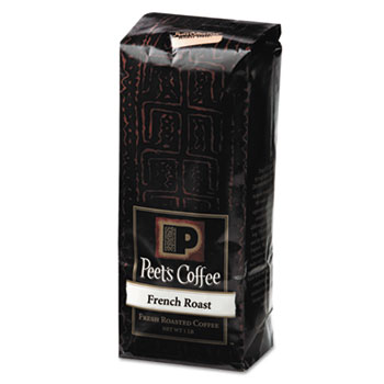 Peet's Coffee & Tea® Bulk Coffee, French Roast, Ground, 1 lb Bag
