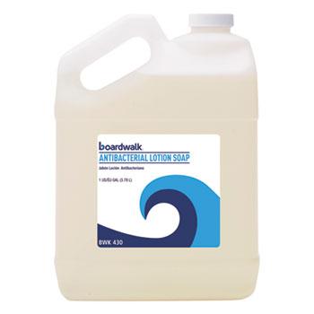 Boardwalk® Antibacterial Liquid Soap, Floral Balsam, 1 gal Bottle, 4/Carton