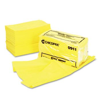 Chix® Masslinn Dust Cloths, 24 x 24, Yellow, 50/Bag, 2 Bags/Carton