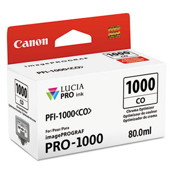 0556C002 (PFI-1000) Lucia Pro Ink, 80 mL, Chroma Optimizer