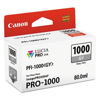 0552C002 (PFI-1000) Lucia Pro Ink, 80 mL, Gray