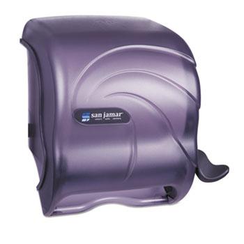 Element Lever Roll Towel Dispenser, Oceans, Black, 12 1/2 x 8 1/2 x 12 3/4