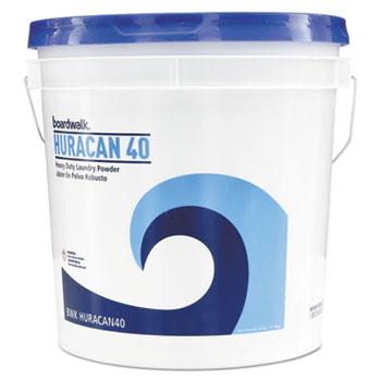 Low Suds Industrial Powder Laundry Detergent, Fresh Lemon Scent, 40lb Pail