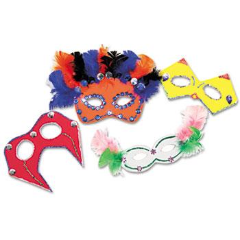 Creativity Street® Foam Mask Kit, 24-Pack, Assorted Colors