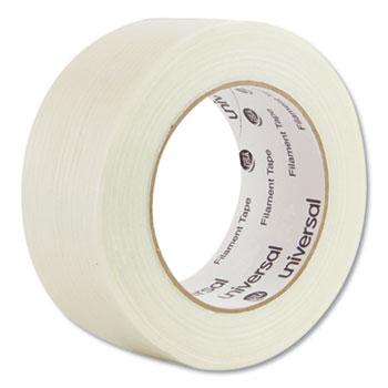 """350# Premium Filament Tape, 3"""" Core, 48 mm x 54.8 m, Clear"""