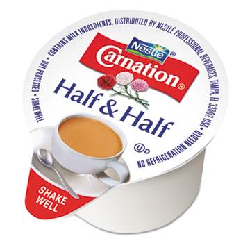 Carnation® Half & Half, 0.3 oz. Single-Serve Cups, 180/CT