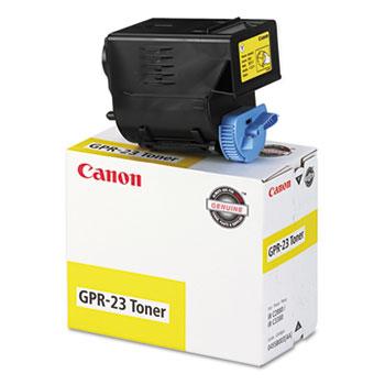 Canon® 0455B003AA (GPR-23) Toner, Yellow