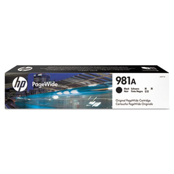 981A PageWide Cartridge, Black (J3M71A)