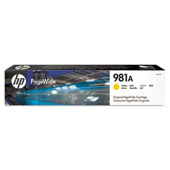 HP 981A PageWide Cartridge, Yellow (J3M70A)