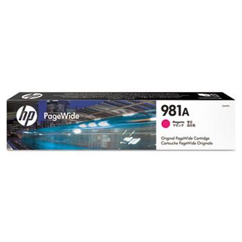 HP 981A PageWide Cartridge, Magenta (J3M69A)