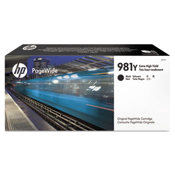 981Y PageWide Cartridge, Black Extra High Yield (L0R16A)