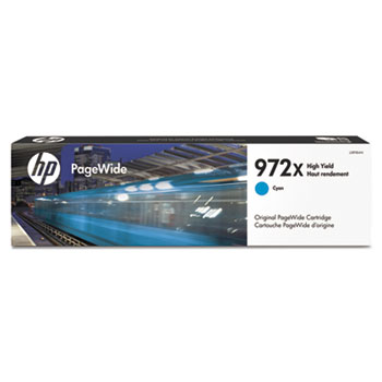 972X PageWide Cartridge, Cyan High Yield (L0R98AN)
