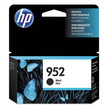 HP 952 Ink Cartridge, Black (F6U15AN)