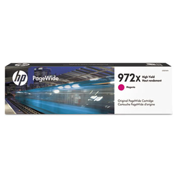 972X PageWide Cartridge, Magenta High Yield (L0S01AN)