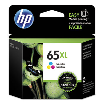 65XL Ink Cartridge, Tri-color (N9K03AN)