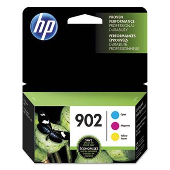 902 Ink Cartridges - Cyan, Magenta, Yellow, 3 Cartridges (T0A38AN)